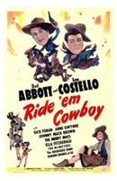 Abbott and Costello, Ride 'Em Cowboy, c.1942 Fine-Art Print