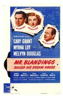 Mr Blandings Builds His Dream House Wall Poster