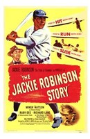 The Jackie Robinson Story Wall Poster