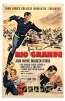 Rio Grande Wall Poster