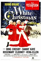White Christmas Wall Poster