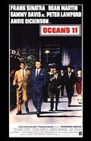 Oceans 11 Dean Martin Wall Poster