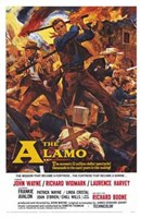 The Alamo John Wayne Wall Poster