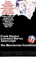 The Manchurian Candidate Sinatra Harvey Wall Poster
