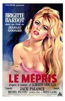 Contempt - French Wall Poster