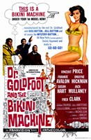Doctor Goldfoot and the Bikini Machine Wall Poster