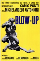 Blow Up Yellow Wall Poster