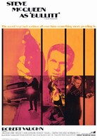 Bullitt Pop Robert Vaughn Wall Poster