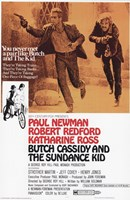 Butch Cassidy and the Sundance Kid Wall Poster