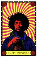Jimi Hendrix Wall Poster