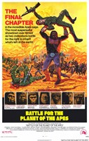 Battle for the Planet of the Apes Wall Poster