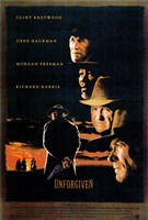 Unforgiven - Clint Eastwood Wall Poster