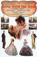 Gone with the Wind Vintage Poster Wall Poster