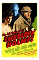 The Adventures of Sherlock Holmes Wall Poster