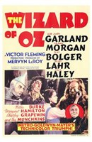 The Wizard of Oz Garland Morgan Bolger Lanr Haley Fine-Art Print