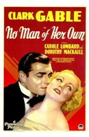 No Man of Her Own With Dorothy Mackall Wall Poster