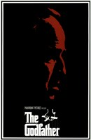 The Godfather Red Profile With Boarder Wall Poster