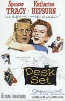 Desk Set Wall Poster