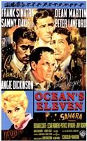 Oceans 11 Frank Sinatra Wall Poster