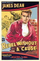 Rebel Without a Cause James Dean Wall Poster