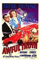 The Awful Truth Wall Poster