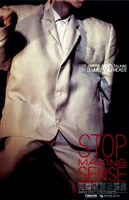 Stop Making Sense Wall Poster