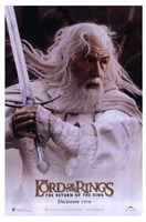 Lord of the Rings: Return of the King Gandalf Fine-Art Print