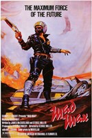 Mad Max Maximum Force of the Future Wall Poster