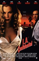 La Confidential - White dress Wall Poster
