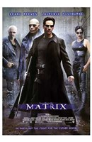 The Matrix - man in all black Wall Poster