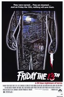 Friday the 13th - Jason Silhouette Campsite Wall Poster