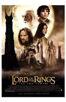 Lord of the Rings: the Two Towers Main Characters Fine-Art Print