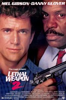 Lethal Weapon 2 Wall Poster