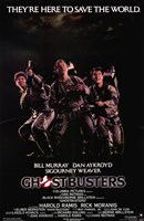 Ghostbusters Cast Wall Poster
