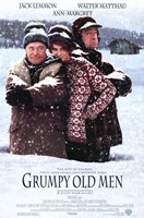 Grumpy Old Men Wall Poster