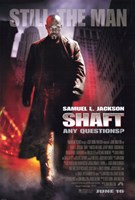 Shaft Still the Man Wall Poster