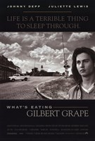 What's Eating Gilbert Grape - black and white Wall Poster