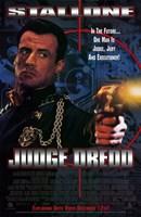 Judge Dredd Stallone Wall Poster
