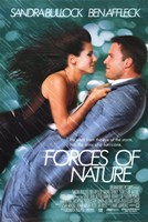 Forces of Nature Bullock And Affleck Wall Poster