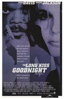 The Long Kiss Goodnight Wall Poster
