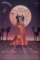 Honeymoon in Vegas Film Wall Poster