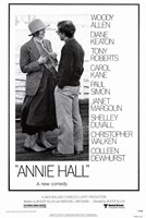 Annie Hall Woody Allen Diane Keaton Wall Poster
