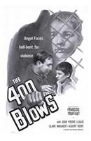 400 Blows - B&W Wall Poster