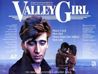 Valley Girl Nicolas Cage Wall Poster