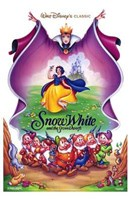 Snow White and the Seven Dwarfs Cast Wall Poster