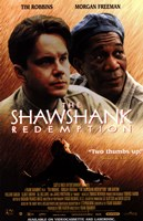 The Shawshank Redemption Robbins and Freeman Fine-Art Print
