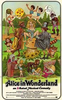 Alice in Wonderland (adult film) Fine-Art Print