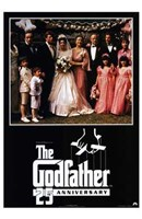The Godfather 25th Anniversary Wall Poster