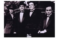 The Godfather Men in Suits Wall Poster
