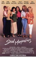 Steel Magnolias Wall Poster